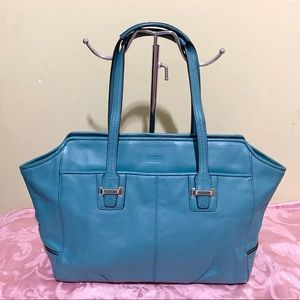 Authentic Leather Coach Tote